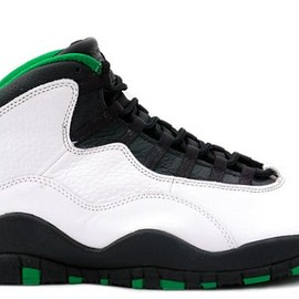 NIKE - Air Jordan 10 Seattle Supersonic