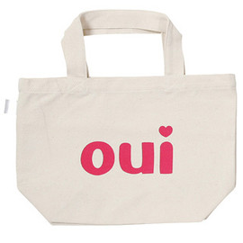 MILKFED. - MINI TOTE BAG Oui (White)