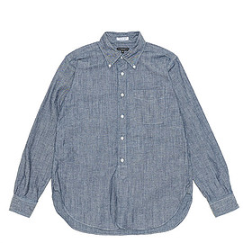 ENGINEERED GARMENTS - 19th BD Shirt-Cone Chambray-Blue