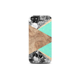 bycsera - MINT iPhone Case Wood Print, iPhone 4s Case Wood Print