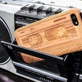 Bamboo Cassette iPhone 5 Case