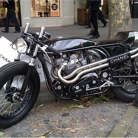 Triton - Karl Lagerfeld Comissioned Triton Motorcycle for Chanel