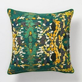 Anthropologie - Switchgrass Square Cushion