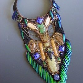 Heidi Kummli - bib necklace