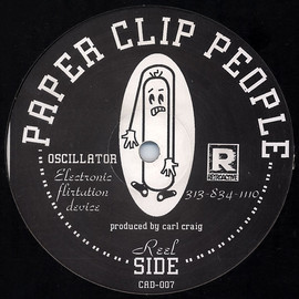Paperclip People - Paperclip People - Oscillator (Electronic Flirtation Device)