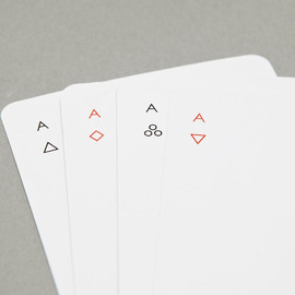 Joe Doucet - Minimalist Iota Playing Cards
