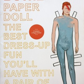M S Elliott - David Bowie Paper Doll The Best Dress-up Fun You'll Have With A Pair Of Scissors