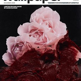 IPC Media, Time Inc. - Wallpaper magazine December 2009 Limited Edition Cover by Anish Kapoor