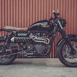 Herencia custom garage - Project #45 Triumph Scrambler 900