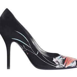 Christian Dior - Shoes in hand-embroidered suede