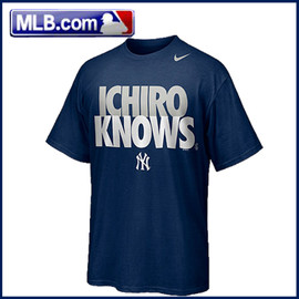 "Nike - MLB NYヤンキース #31""ICHIROKNOWS"" Tee by Nike"