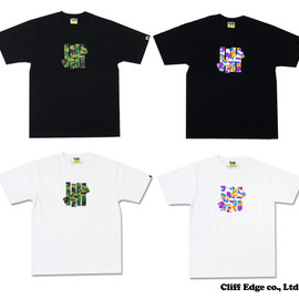 A BATHING APE x UNDEFEATED - コラボ Tシャツ #1