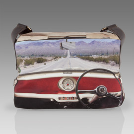 Paul Smith - Mini Interior Print Flight Bag