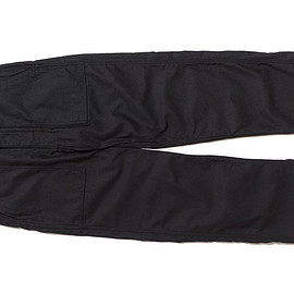 WORKADAY - Fatigue Pant-Cotton Reversed Sateen-Black