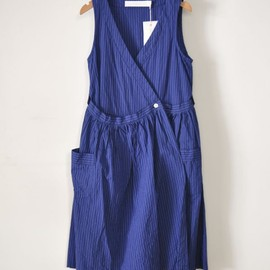 ASEEDONCLOUD - Apron One Piece Stripe