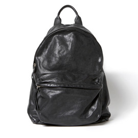 nonnative - DWELLER DAYPACK - ITALIAN BUFFALO LEATHER by OFFICINE CREATIVE