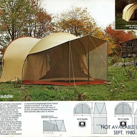 Moss Tent - The Saddle