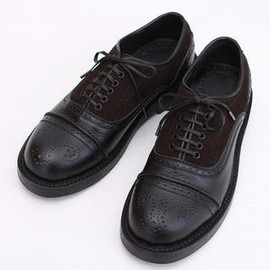 mythography - Balmoral Straight Tip Shoes