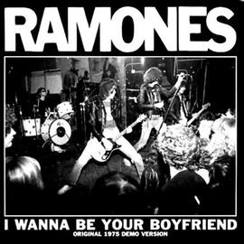RAMONES - Ramones I Wanna Be Your Boyfriend 7 inch