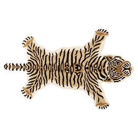 zara home kids - Tiger-shaped rug.