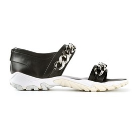GIVENCHY - chain link sandals