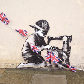 Banksy - New Banksy in Turnpike Lane, London