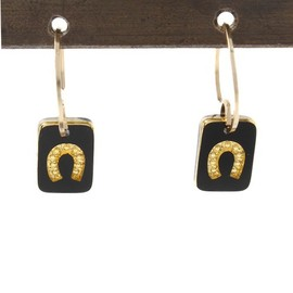 And A - And A KOMONO(アンドエーコモノ)のTiny Heart / Little Luck Earrings E6 (By Boe)(ピアス(両耳用))|ゴールド