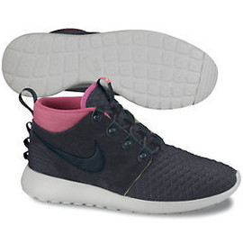 Nike - Roshe Run Mid Winter - Antracite/Black/White/Pink?