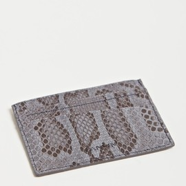 Lanvin - Lanvin Men's Python and Snake Card Holder