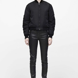 T by Alexander Wang - Black Skinny Pants