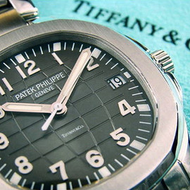 PATEK PHILIPPE  - AQUANAUT Tiffany Wname