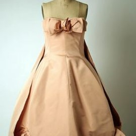 Dior - silk evening dress, 1958