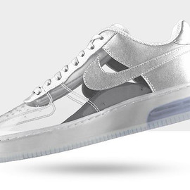 NIKEiD - Air Force 1 Invisible and Sparkle Patent Options