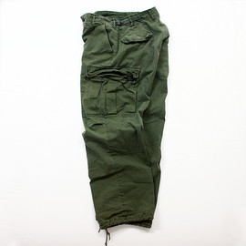 VINTAGE - 1960s U.S.ARMY Jungle Fatigue Pants