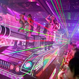robot restaurant - Female Warriors Take on AKB48 at Shinjuku's Robot Restaurant