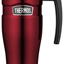 Thermos - Thermos 16 Ounce Stainless Steel King Travel Mug with Handle