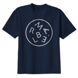 Marble - Marble Letters Tee Shirt (Blue)