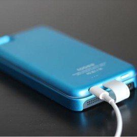 Case-Sticky-on Removable External Battery for iPhone 5