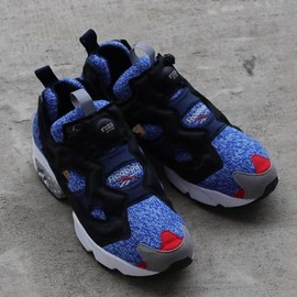 Reebok - WHIZ LIMITED × MITA SNEAKERS × REEBOK INSTA PUMP FURY OG BALCK/REEBOK ROYAL/RED