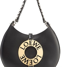 Loewe - Joyce embellished leather shoulder bag