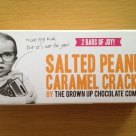 The Grownup Chocolate Company - Salted Peanut Caramel Cracker