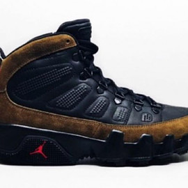 Jordan Brand - Air Jordan 9 Boot NRG - Olive/Black/Red