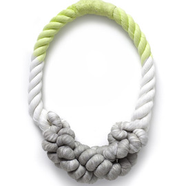 Tanya Aguiniga - Double Dipped Necklace