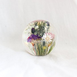 Landscape Products - Hafod Grange - Paperweight S #mixed flora(A)