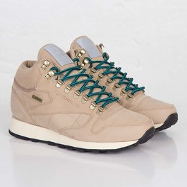 Reebok - Classic Leather Mid GORE-TEX® - Paperwhite/Gem/Black