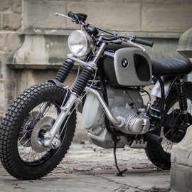 BMW - R80/7 Scrambler by Down & Out Cafe Racers