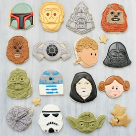 The sweet adventures of Sugarbelle - Star Wars Cookies