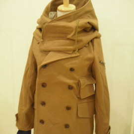 romar quee - big hooded coat 11-12a/w