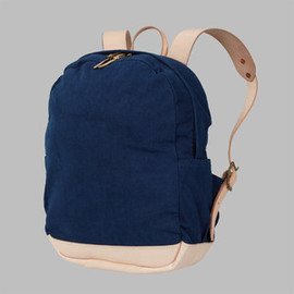 joshu+vela - Zip Backpack - Leaf Indigo
