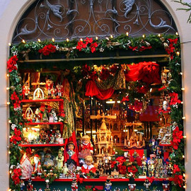 Germany - Rothenburg Christmas Window